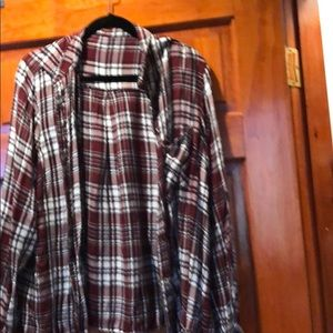 One pocket flannel